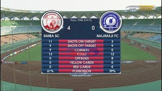 SIMBA SC 4-0 MAJIMAJI FC, VPL FULL HIGHLIGHTS (28/01/2018)