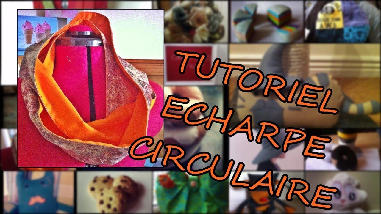 Comment fabriquer une echarpe circulaire youtube - Comment fabriquer une ponceuse a bande ...