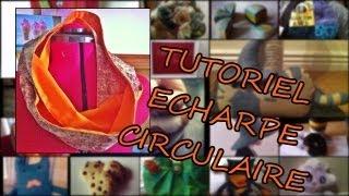 Ce tutoriel va vous montrer comment fabriquer une echarpe circulaire, c est un projet simple et rapide a realiser. Vous pouvez facilement changer la taille du ...