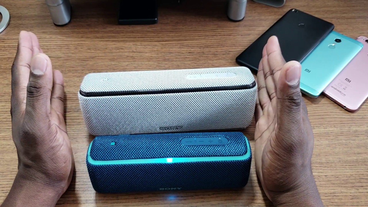 Sony SRS-XB21 Portable Wireless Bluetooth Speaker Blue