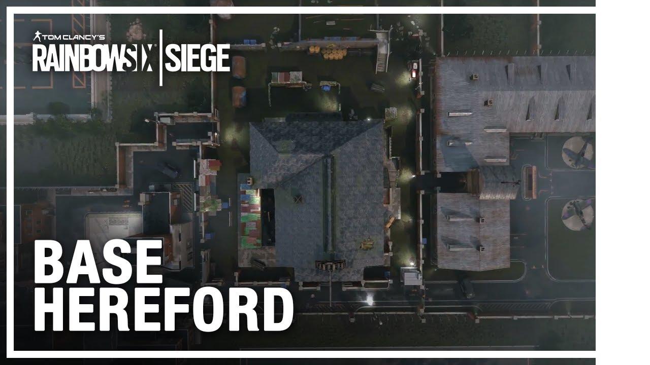 Rainbow Six Siege - Mapa Hereford