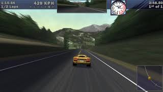 Need For Speed III: Hot Pursuit (1998) - Top Speed of All Cars