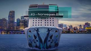 Five new Cruise Ships we are excited to see in 2018!