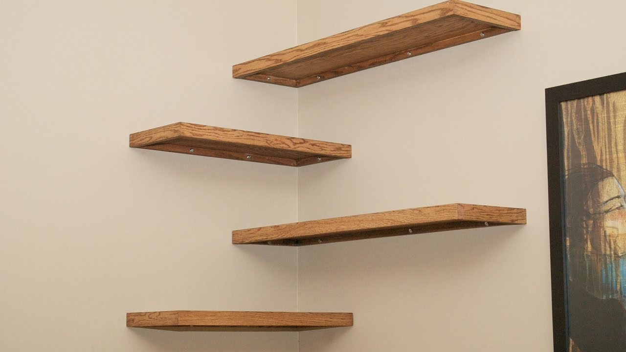 Delectable Corner Shelves Wall Mount Bring New Look Into