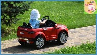 Детский электромобиль RiverToys Rapid Racer модель под Land Rover