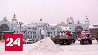 Сугробы и мороз: батареи в московских квартирах включили на максимум - Россия 24