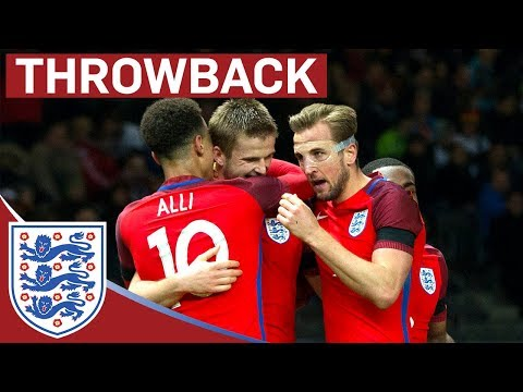 England comeback from 2-0 Down in Germany | From The Archive