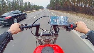 Выжал МАКСИМАЛКУ на мотоцикле из ХЛАМА
