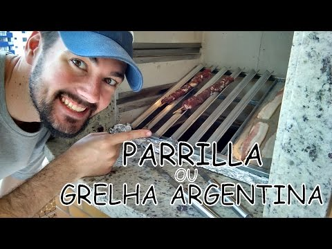 Grelha argentina (Parrilla) - DIY | Na oficina - S01E04