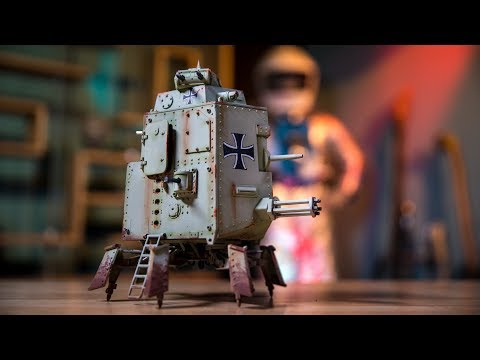 Machination Studio's Mechanized Armored Walker!