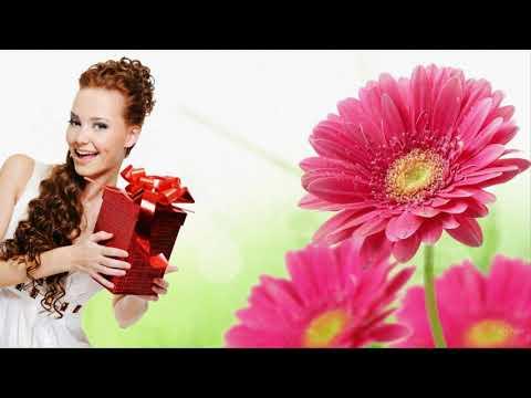 С днем рождения  в августе поздравление Красивая видео открытка