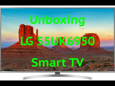 Unboxing Lg 55uk6950plb Uhd 4k Smart Tv Youtube