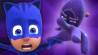 PJ Masks 🌙 Into the Night to Save the Day 🖤PJ Masks Season 2 | HD | Superhero Cartoons for Kids