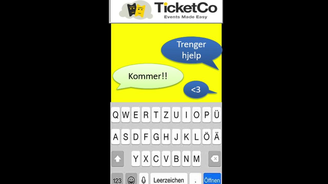 Forretningside Ticketco Youtube