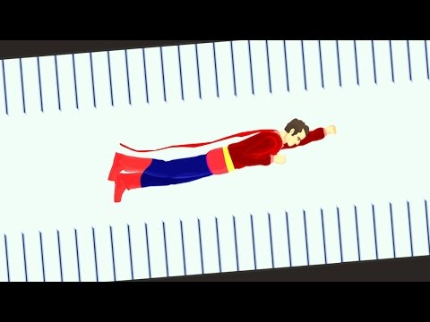 SUPERMAN CHALLENGI!! (Happy Wheels)