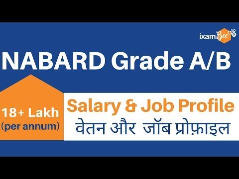 NABARD Grade A, Grade B Salary 2019, Perks, Job Profile and Facilities