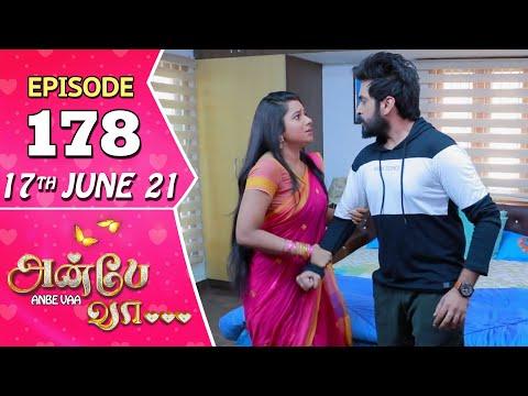 Anbe Vaa Serial | Episode 178 | 17th June 2021 | Virat | Delna Davis | Saregama TV Shows Tamil