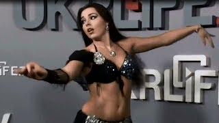 Alla Kushnir - Belly Dance at Ukrainian TV