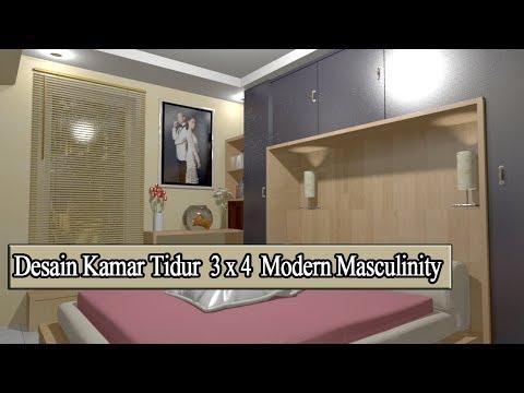 desain-kamar-tidur-pasutri-uk-3x4-modern-masculinity-terbaru