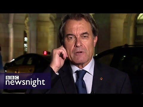 Former Catalan leader Artur Mas on the referendum, independence and plan for talks - BBC Newsnight