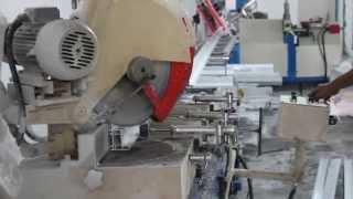 mullion cutting for UPVC Profile