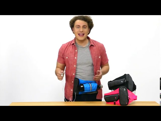 Product Video - Athle Sports - Running Belt, Horizontal Water Bottle Pouch⠀