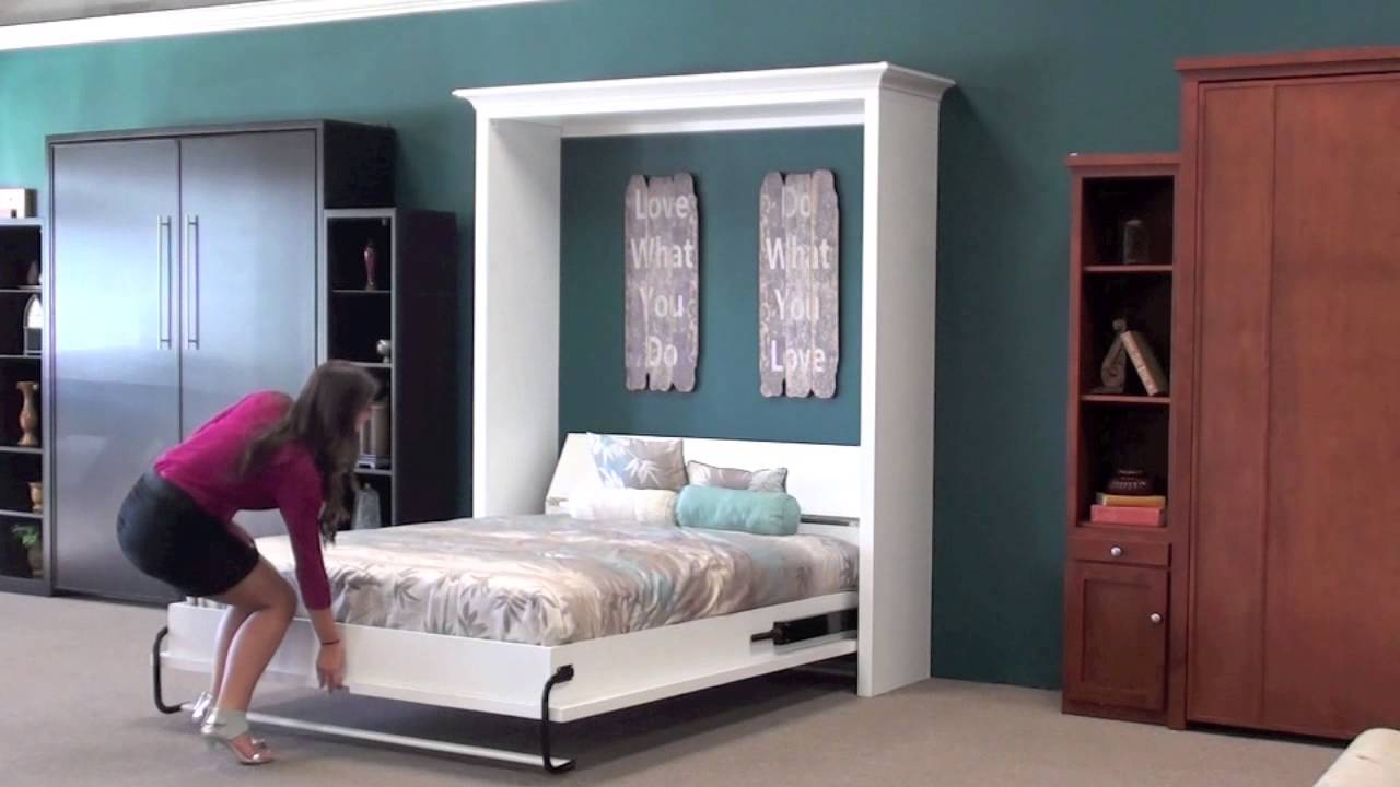 Wall beds murphy wall beds san diego 1 youtube amipublicfo Image collections