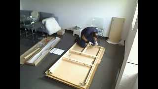 Assembly Of A Ikea Bjursta Table