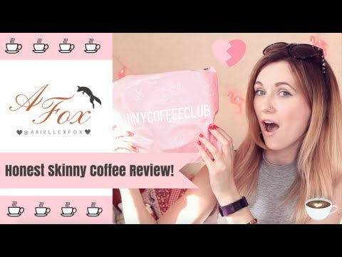 Honest Skinny Coffee Review Arielle Fox