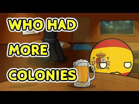 Who had more colonies - Countryballs