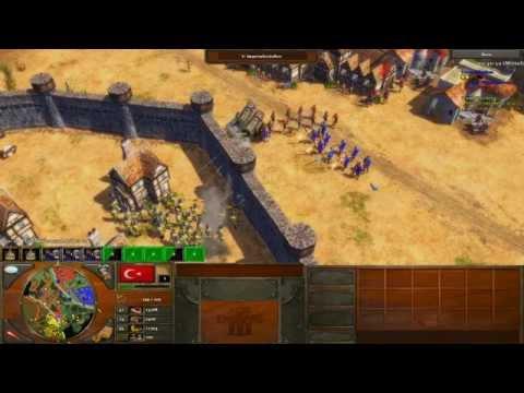 Age of Empires 3 Gameplay Deutsch - Multiplayer - Bronzehaubitzen [Deutsch/HD]