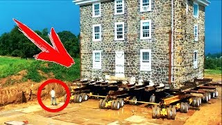 MAN MOVED HIS HOUSE 40 METERS TO AVOID DEMOLITION! NO ONE WAS EXPECTING THIS...