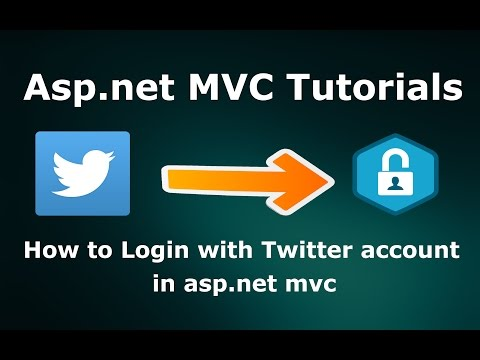 How to Login with Twitter account in Asp.net MVC