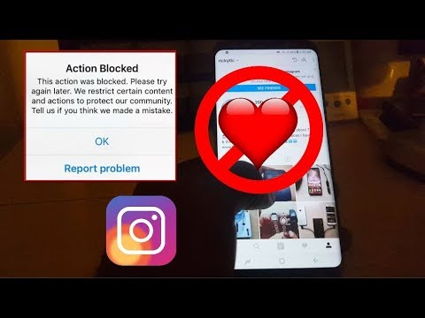 Action Blocked Instagram Fix