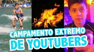 CAMPAMENTO EXTREMO DE YOUTUBERS | PRO WEEK / Juanpa Zurita