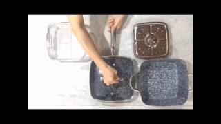 Openbox : OX-05SQ 5Pcs Panci Oxone Granite Cookware Set