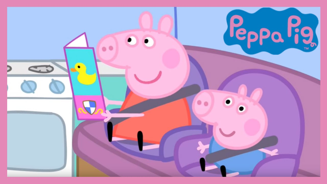 Peppa Pig The Camping Holiday Youtube