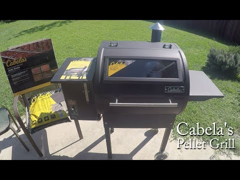 NEW - Cabela's Pellet Grill Review (w/ Window)
