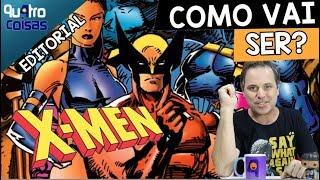 ❌TEORIAS! COMO SERÃO OS  X-MEN NA MARVEL STUDIOS DISNEY? #Qu4troCosias #XMen #MCU #Disney
