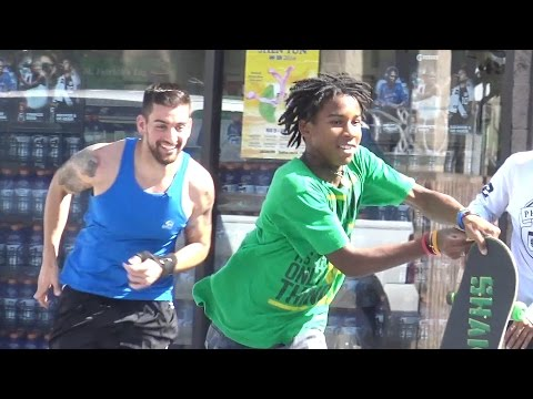 Winning Lottery Ticket Prank - Funny Public Hood Pranks