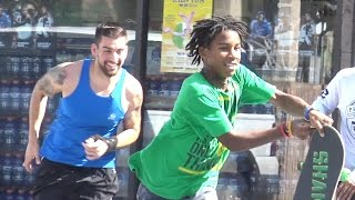 Winning Lottery Ticket Prank - Funny Public Hood Pranks thumbnail