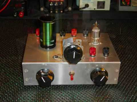 One Tube Regenerative Receiver Project by Survivalist2008