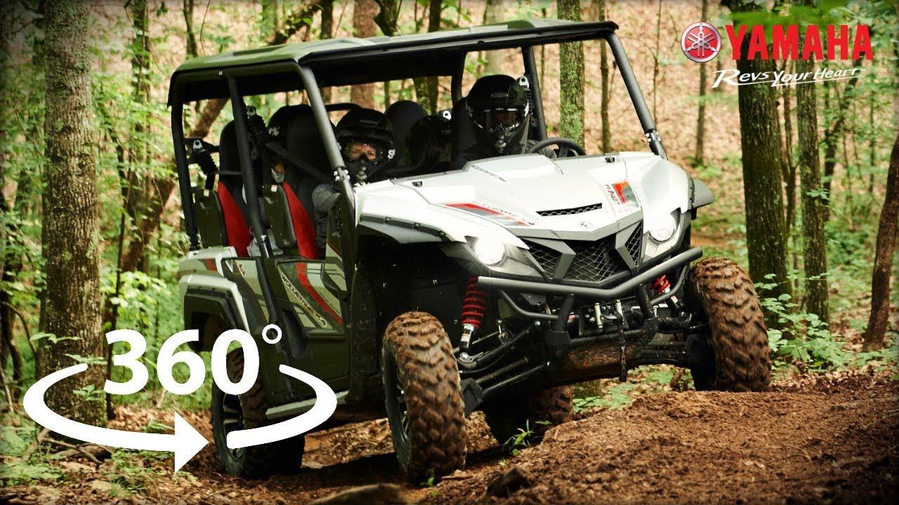 Yamaha Wolverine X4 Adventure In 360