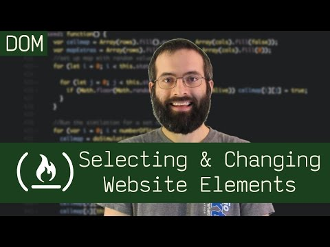 Selecting & Changing Website Elements (DOM Manipulation) - Beau Teaches JavaScript