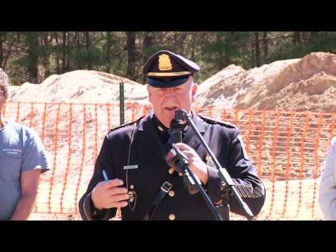 Building the New Palmer Police Station Episode 4 - Ground Breaking Ceremony