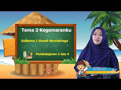 Video Pembelajaran Tematik Kelas 1 Tema 2 Subtema 1…