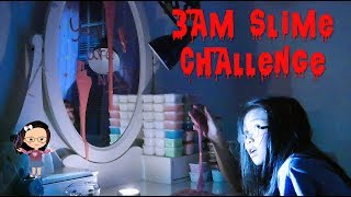 DO NOT MAKE SLIME AT 3AM  DON&#39T TRY IT!!! (((WARNING)))