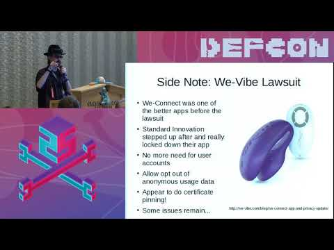 DEF CON 25 BioHacking Village - RenderMan - Hacking The Internet of Dongs