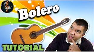 Como tocar BOLERO EN GUITARRA | Clases de guitarra fácil