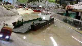Nordostseewoche 2014 - rc model ships cruising at Miniatur Wunderland Hamburg